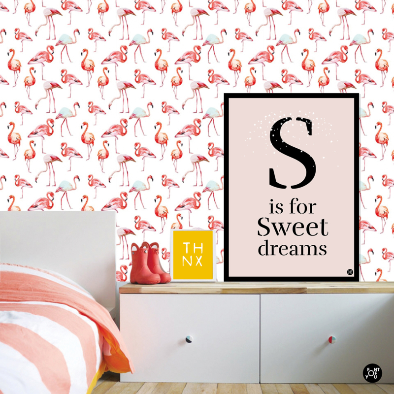 Poster - S is for Sweet dreams