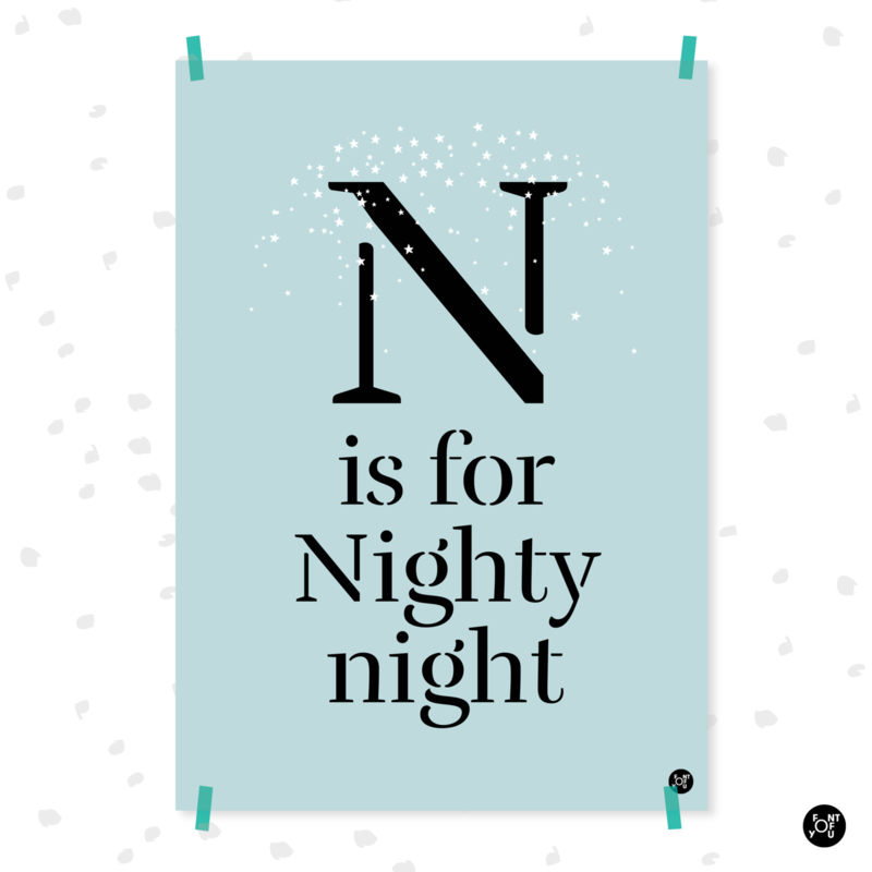 Poster - N is for Nighty Night