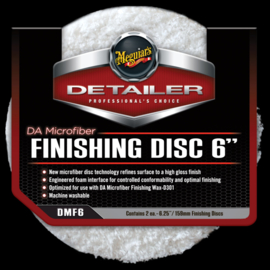 DA Microfiber Finishing Disc 6inch 2st.
