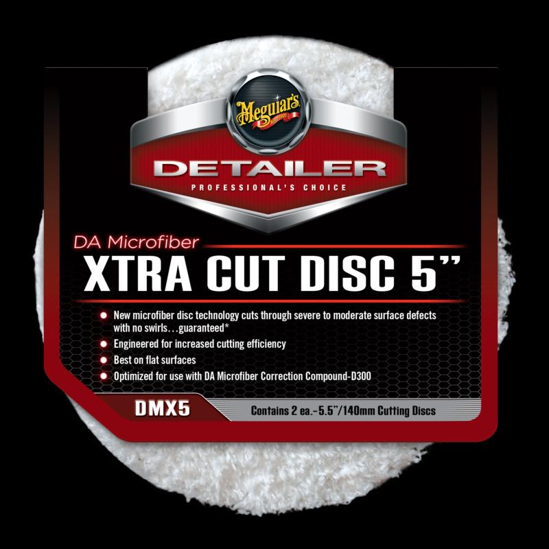 DA Microfiber Xtra Cut Disc 5inch 2st.