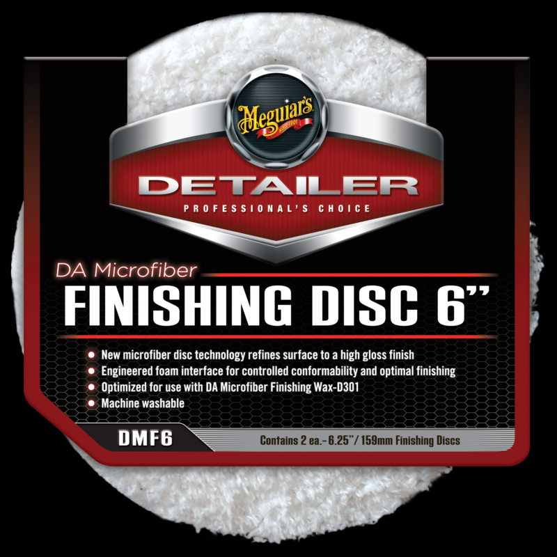 DA Microfiber Finishing Disc 6inch 2st.