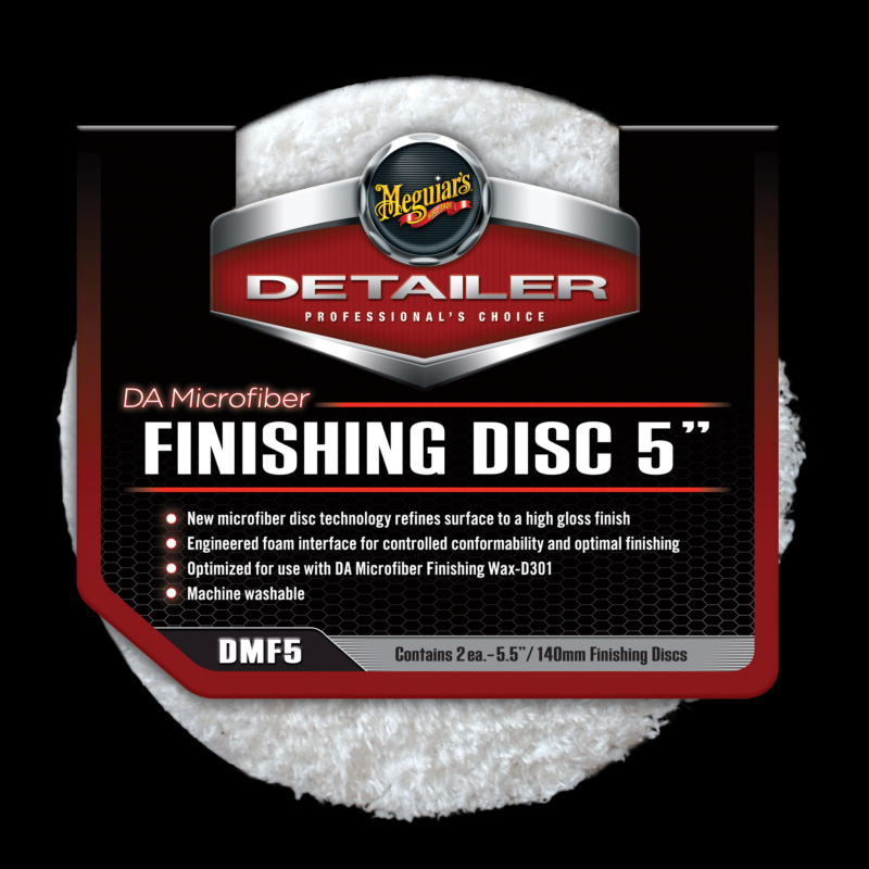 DA Microfiber Finishing Disc 5inch 2st.