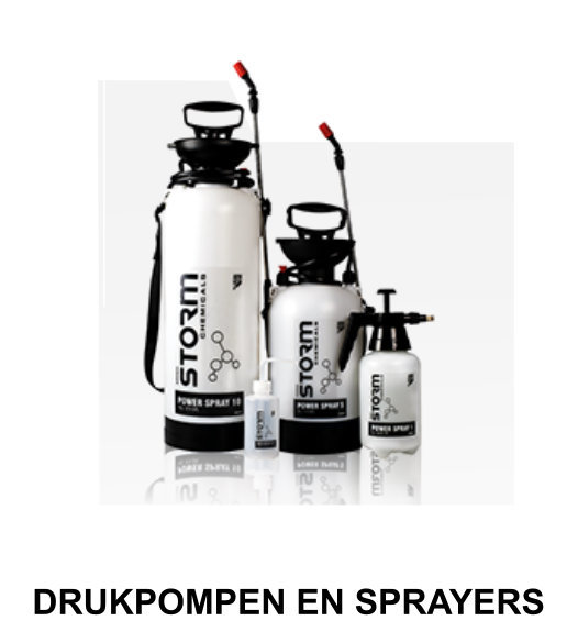 drukpompen en sprayers