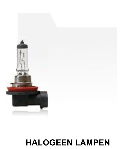 Halogeen lampen