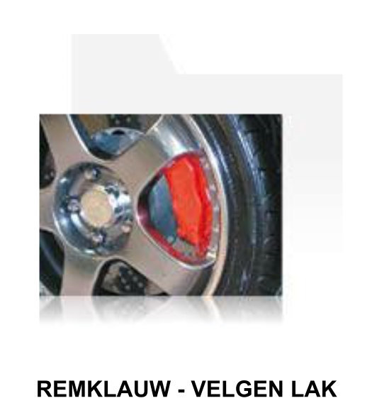 remklauw-velgen lak
