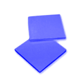 2 Pieces of Silicon Basicmaterial Blue