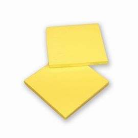 2 Pieces of Silicon Basicmaterial Yellow