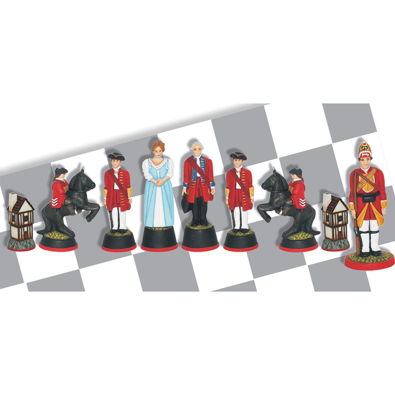 Gietmallen Schaakset Engelse Hertog van Cumberland (32 mm stukken)