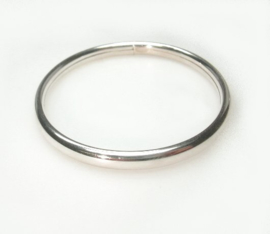 zilveren kinder slavenarmband 5 mm
