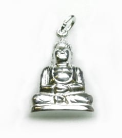 zilveren Boeddha indisch