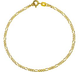 Gouden Figaro armband