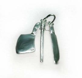 zilveren messen