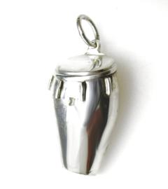 zilveren Conga hanger