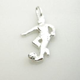 zilveren voetballer