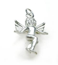 zilveren engeltje