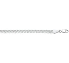 Zilveren damesarmband
