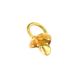 Gouden hanger speen