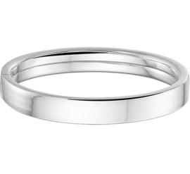 zilveren slavenarmband 9 mm
