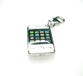 zilveren Charm mobieltje