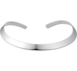 Mooie zilveren ronde spang