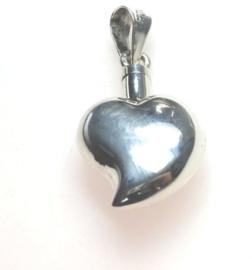 Zilveren Ashanger hartje