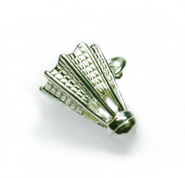zilveren Shuttle badminton