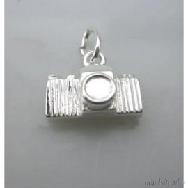 zilveren camera
