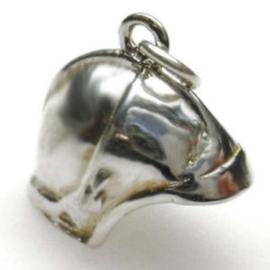 zilveren Brandweerhelm