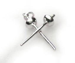 Gekruiste Degens hanger zilver