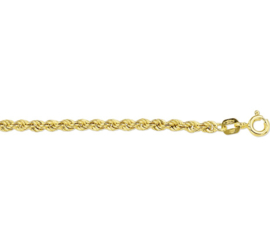 Gouden Enkelbandje koord