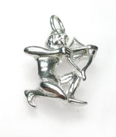zilveren sterrenbeeld Boogschutter hangertje
