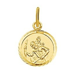 Gouden St.Christoffel medaillon