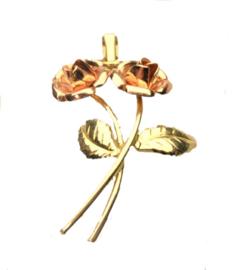 gouden hanger roos