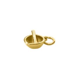 Gouden Vijzel  hangertje