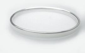 zilveren slavenarmband 5mm