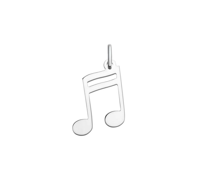 Hanger muzieknoot groot