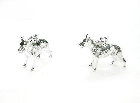 Zilveren herdershond