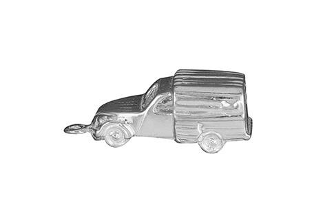 zilveren hangertje lelijke eend bestel