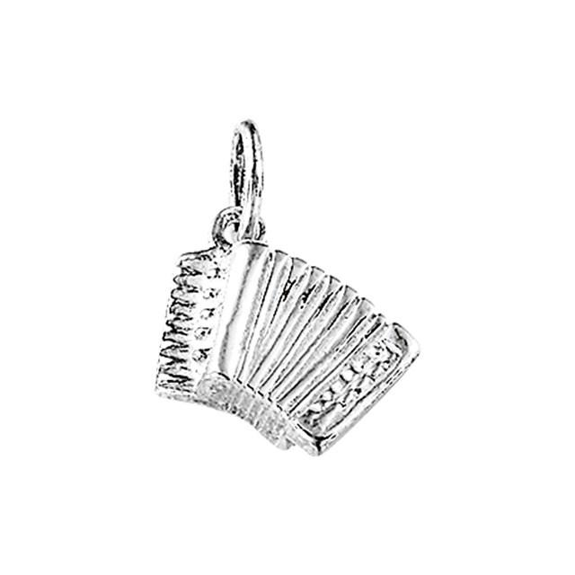zilveren accordeon