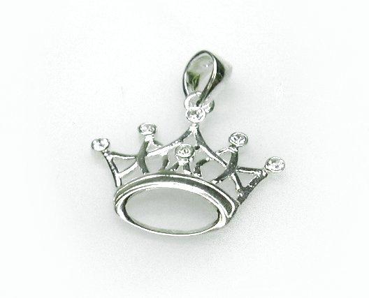 zilveren kroontje
