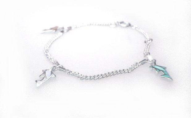 Zilveren kinder armbandje