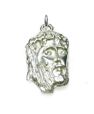 zilveren hangertje christus