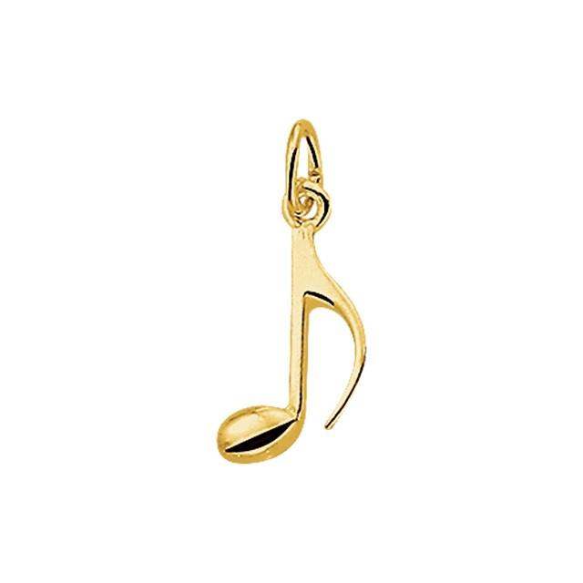 Gouden muzieknoot
