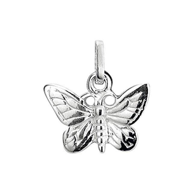 zilveren vlinder hanger / bedel