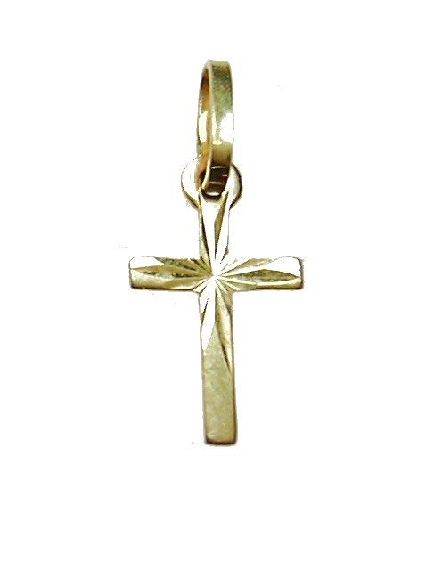 Klein gouden kruisje