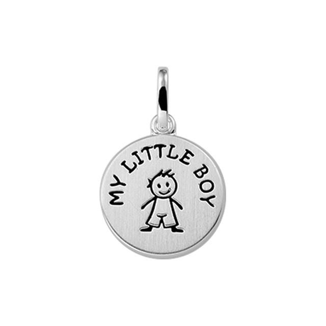 "Hanger tekst ""My little boy"" poli/mat"
