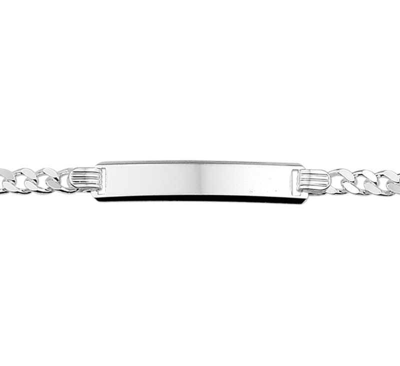 Zilveren graveer armband. Gratis gegraveerd.gravure