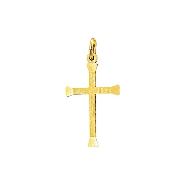 Gouden kruis hanger