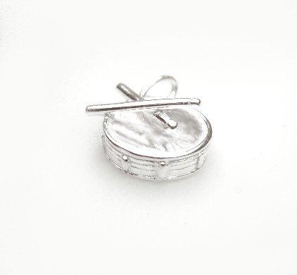 zilveren trommel Snare