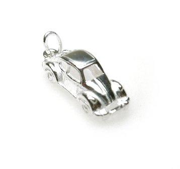 zilveren hangertje volkswagen kever